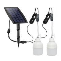 New Solar Power Outdoor Light Solar Lamp Portable Bulb Solar Energy Lamp Led Lighting 3W 5M Cable