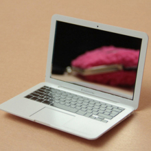 Makeup Mirror Mini Pocket Laptop Style Clear Glass mirror