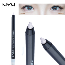 1pc EYN Brand Eyeliner Pencil Waterproof Silver Eyeshadow Pencil Long Lasting Lying Silkworm Makeup Eye Liner Pen Highlighters