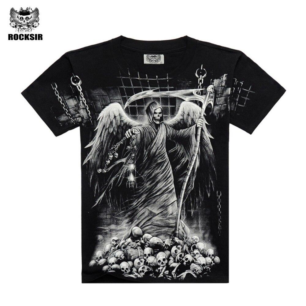 Good quality black t shirt - High Quality 2016 M Xxxl New Fashion Cotton Brand T Shirt Men 3d Tshirt Clothes