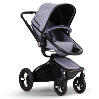 Gubi baby stroller baby carriage trolley four wheel folding EU strollers 2 in 1 baby pram