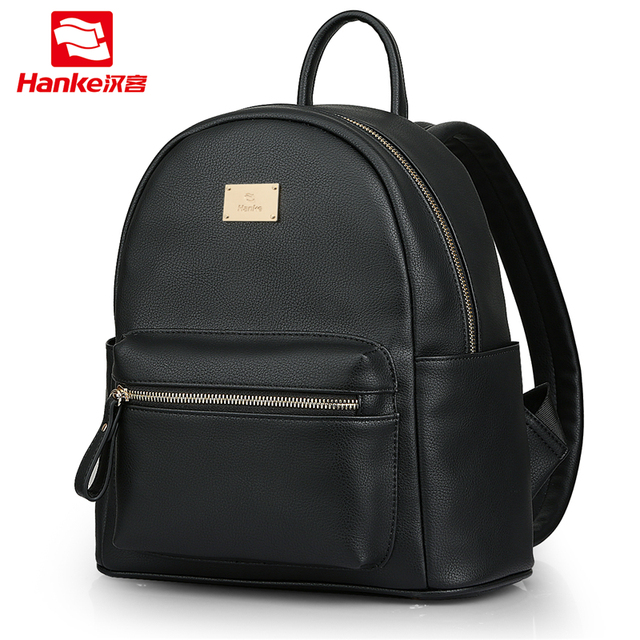 Hanke Mini Pu Backpack Women Backpacks Lady Shoulder Bag Female For Age S School Bags College