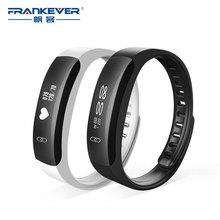 Frankever Smart Band Приборы для измерения артериального давления мониторинга сердечного ритма мониторинга здоровья браслет спортивные часы Мода Водонепроницаемый Совместимость