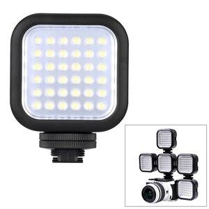 Image 5 - Orijinal Godox LED36 LED Video Işığı 36 LED Işıkları Lamba Fotografik Aydınlatma 5500 ~ 6500 K DSLR Kamera Kamera için mini dvr