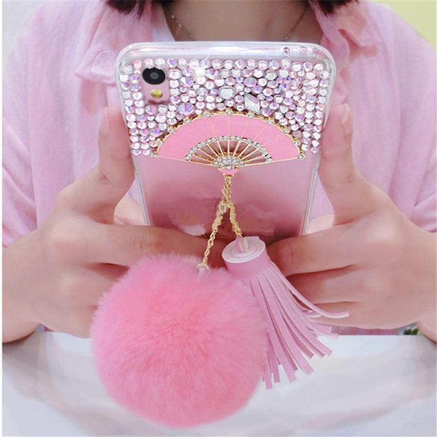 For-Samsung-J3-J5-J7-Prime-2016-2017-Pro-Glitter-Bling-Fan-Rhinestone-Phone-Case-Soft -