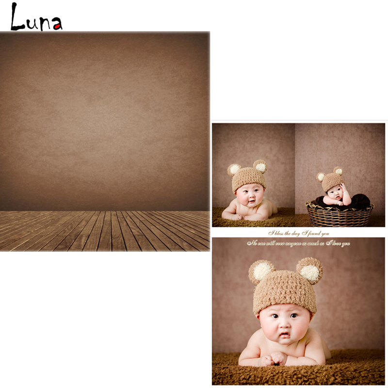 Vinyl Backdrops for photo studio Brown Wall Oxford Photography Background Wood Floor For Children Free Shipping  vinyl photo backdrops for photo studio button oxford photography background wood floor for children free shipping