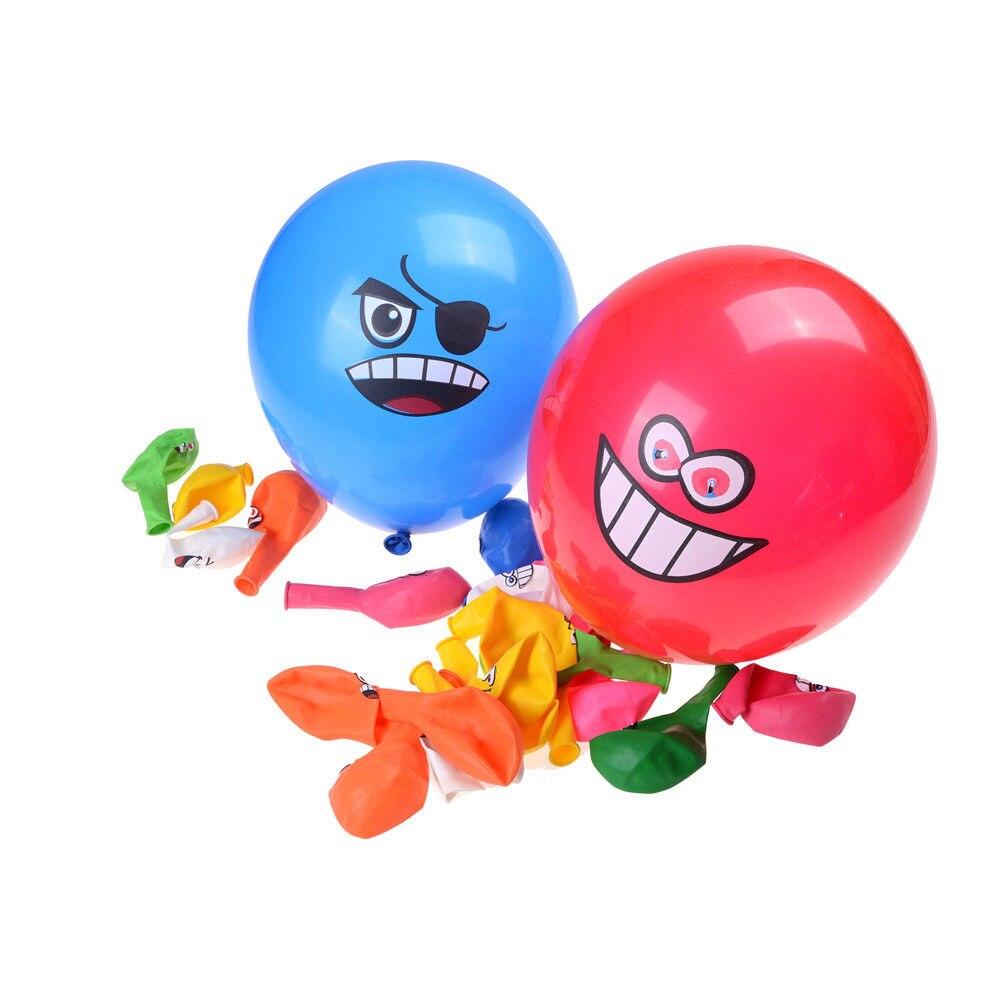 unids grandes ojos sonrientes cara de ltex fiesta de cumpleaos de globos decoracin globos de