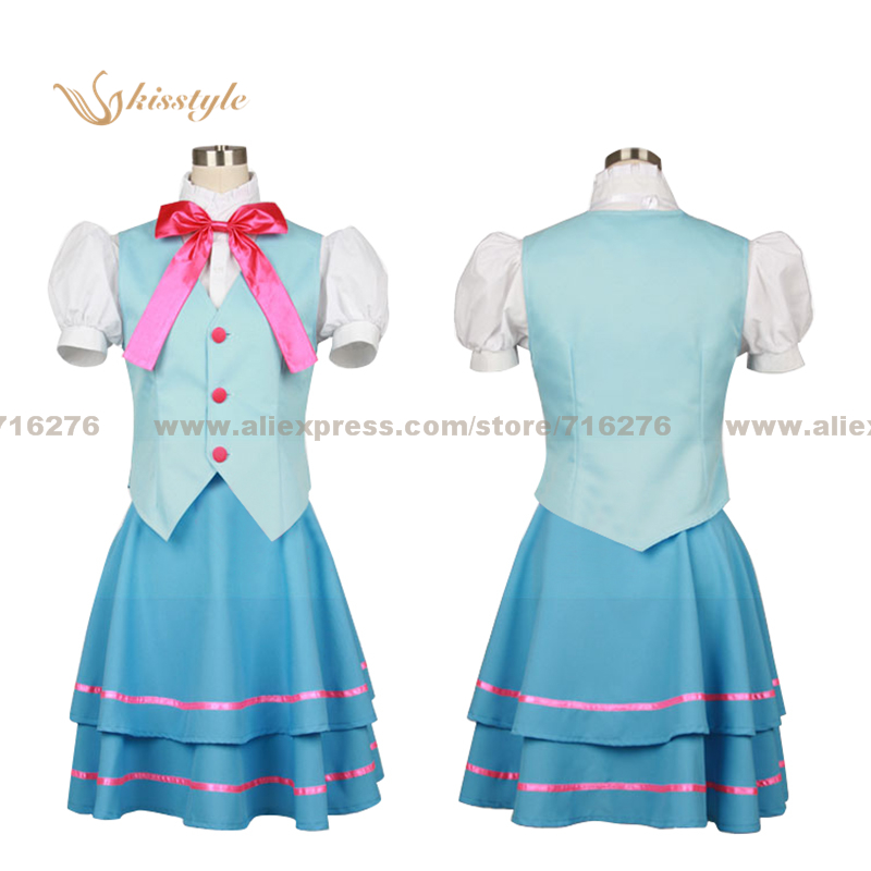 Kisstyle Fashion Suite PreCure Suite Pretty Cure Private Aria Academy Girl Summer Uniform Cosplay Costume,Customized Accepted
