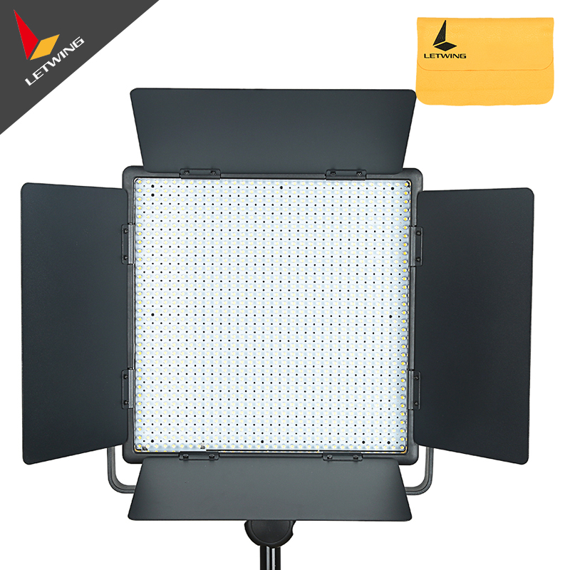 Godox LED1000Y Studio Video Light Lamp For Camera Camcorder Wireless Remote Yellow Version 3300K godox professional led1000y wireless remote 3300k dimmable led video light for wedding macrophotography photojournalistic