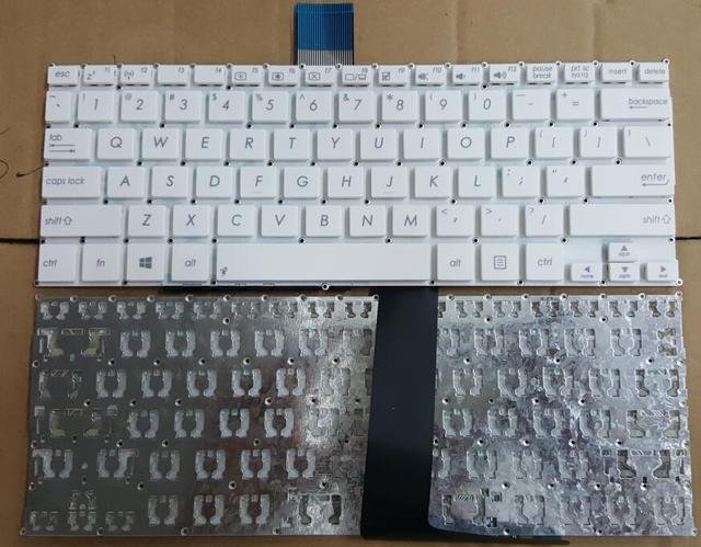 Nueva ee. uu. blanco teclado del ordenador portátil para asus f200 f200ca f200la F200MA X200 X200A X200CA X200L X200LA X200M X200MA R202CA R202 R202LA