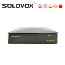 Solovox V6S Satellite TV receiver supports the 6-line European account and supports Xtream/stalker/m3u/mars TV pro,S V6 upgraded