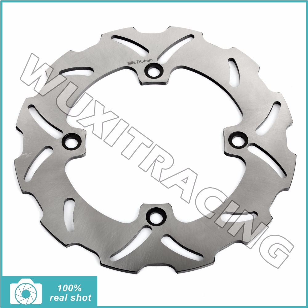 BIKINGBOY New Rear Brake Disc Rotor for SUZUKI DR 650 DR650 96 97 98 99 00 01 02 03 04 05 06 07-12 XF 650 XF650 Freewind 97-03 rear brake disc rotor for suzuki dr 650 se 96 12 k1 k2 k3 k4 k5 k6 k7 k8 k9 xf 650 freewind 97 98 99 00 01 02 03
