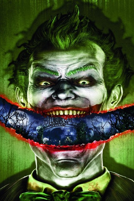 DIY frame Batman: Arkham Asylum Action Game Poster Joker Fabric Silk ...