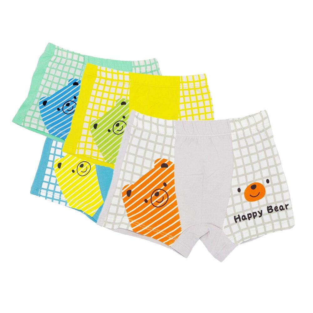 4 Pairs Girls Boxer Shorts Knickers Briefs 100/% Cotton Pants Childrens Underwear