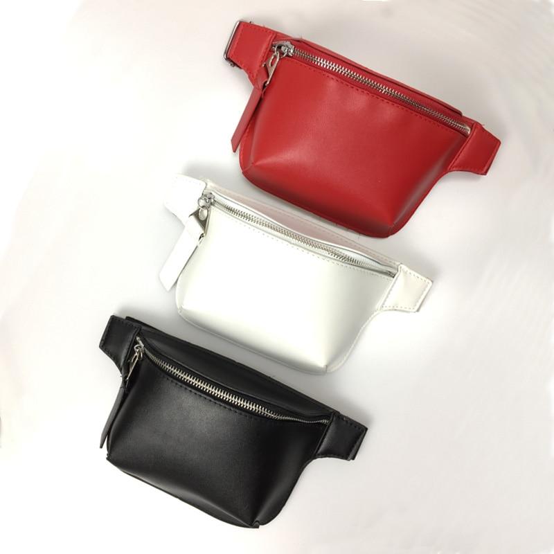Women Waist Bag Leather Fanny Pack Girl Chest Bag Female Casual Travel Bags Fashion Shoulder Pack Belt Packs Wholesale