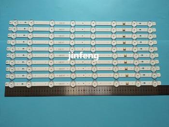 New 5set=10 PCS 8LEDs 600mm LED backlight strip for LG 32LJ510U HC320DXN-ABSL1-A142 SSC_32LJ61_HD S SSC_32LJ61_HD_8LED