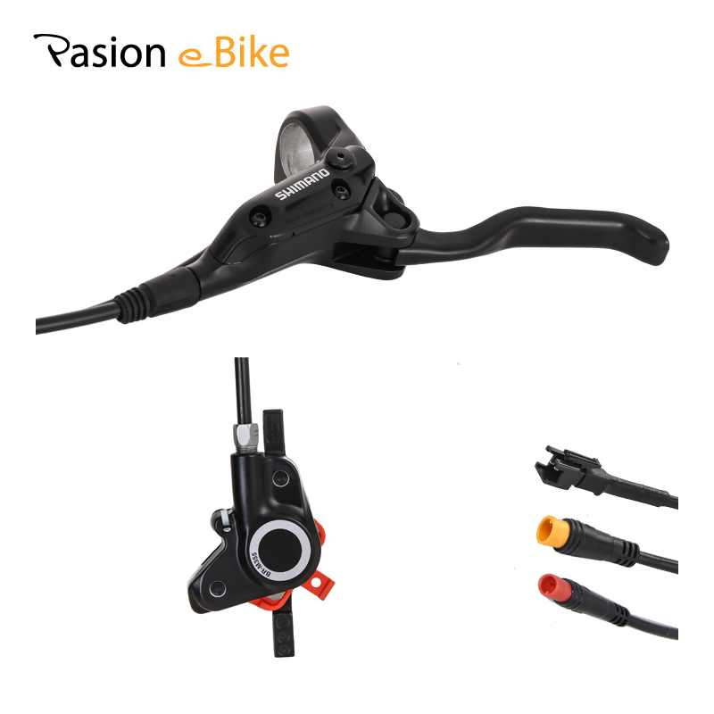цена на PASION E BIKE Hydraulic Brake Disc Set MTB E-Bike Brake Bafang Hydraulic Brake SONDORS Power Cut Off Hydraulic Brakes for eBikes