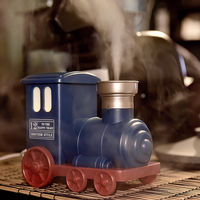 Mini Train Toy Air Humidifier USB Ultrasonic Air Humidifier Aromatherapy Essential Oil Diffuser Mist Maker For