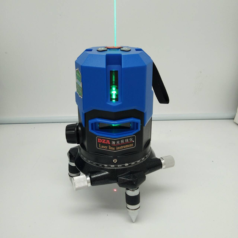 Xeast 2/3/5 Lines Blue Laser Level 360 Degree Self-leveling Outdoor Laser Line cross line blue laser with lithium battery laser cast line instrument marking device 5 lines the laser level
