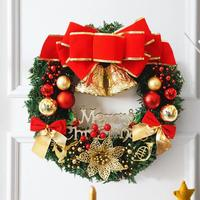 Noel çelenk Karşılama için çelenk Kardan Adam Noel Baba Şekil Noel Baba Noel Süslemeleri ev F3-09L