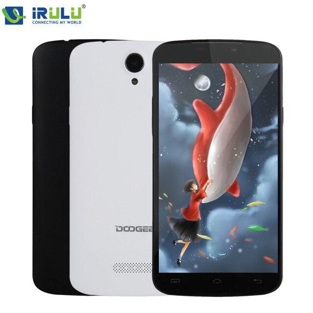 """Оригинальная Doogee X6 5.5 """"HD 1280x720 Смартфон MTK6580 Quad Core 8.0MP 1 Г + 8 Г Мобильный Телефон Android 5. Dual Sim 3 Г Мобильный телефон"""