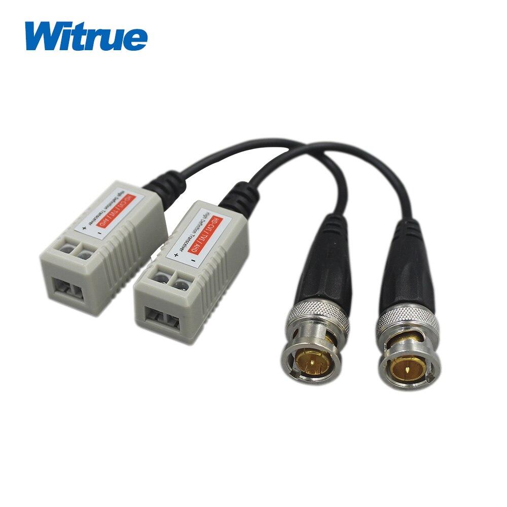 bilder für Witrue HD Video Balun passive Transceiver UTP Balun Kompatibel mit AHD/CVI/TVI/CVBS signalübertragung 720 P/960 P/1080 P