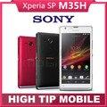 БЕСПЛАТНЫЙ Подарок Оригинальный Разблокирована Sony Xperia SP M35h C5303 Android 4.1 Dual-core 4.6 дюйм(ов) 8 MP WI-FI Восстановленное Сотовый Телефон