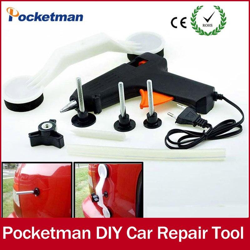 Voiture auto réparation outils Pops une Dent et Ding Outils de Déplacement de Réparation DIY De Voiture De Réparation