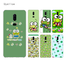 Uyellow Cute keroppis Silicone Soft TPU Phone Case For One Plus 7 Pro 6 6T 5 5T Fashion Shell Fundas Printed Cover Luxury Coque uyellow star wars watercolor soft tpu case for one plus 7 pro 6 6t 5 5t fashion fundas printed cover silicone luxury phone coque