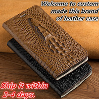 NC01 genuine leather flip cover case for Nokia 6 phone case for Nokia 6 flip cover free shiping
