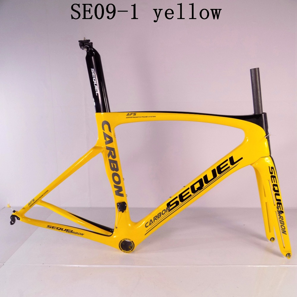 SEQUEL brand road bike carbon frame good quality and price clearance sale now UD 1K Toray