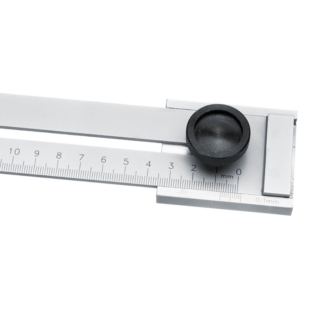 Image 5 - ALLSOME 200mm/250mm/300mm Screw Cutting Marking Gauge Mark Scraper Tool For Woodworking Measuring HT2438 2440-in Gauges from Tools