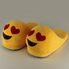 Тапки-смайлики для женщин домашняя обувь хлопковые плюшевые тапочки плюшевые тапочки со смайлами теплые тапочки дамские зимние тапки для дома