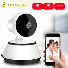 HYASIA двусторонний аудио Детский Монитор IP камера ночного видения WiFi камера детская няня CCTV пустышка беспроводная домашняя камера безопасности Bebe