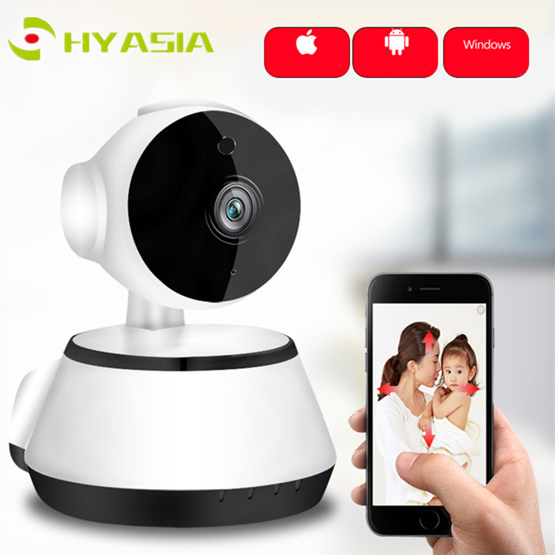 HYASIA Two Way Audio Baby Monitor IP Camera Night Vision WiFi Camera Baby Sitter CCTV Dummy Wireless Home Security Camera Bebe