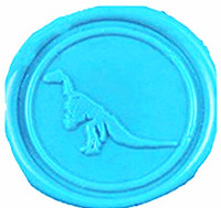Vintage Cute Dinosaur Picture Logo Wedding Invitation Wax Seal Sealing Stamp Sticks Spoon Gift Box Set