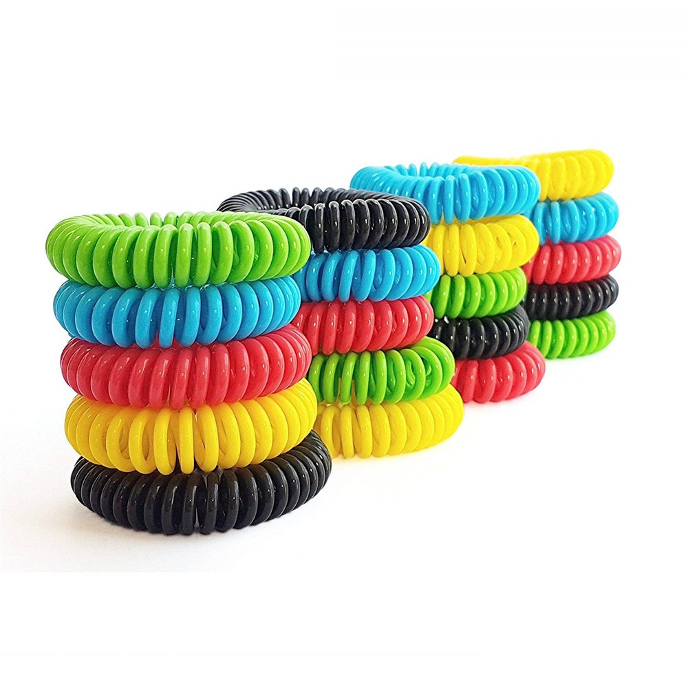 Image 5 - Household 20PCS Mosquito Repellent Bracelets Natural Repellent Wristbands convenient and  practical Household HOT Sale product-in Repellents from Home & Garden