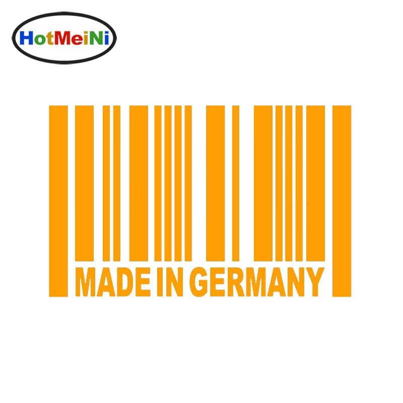 ②HotMeiNi 15*9.5cm Car Sticker Made in Germany JDM Car Racing ...