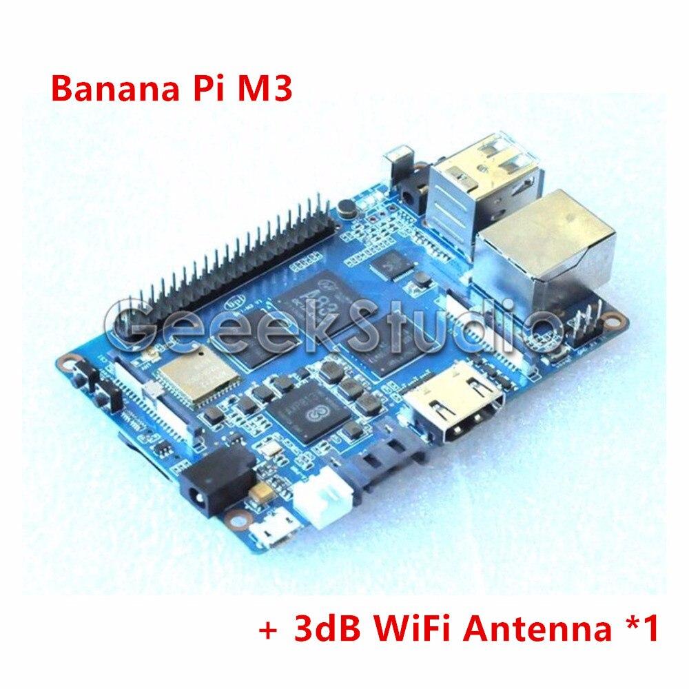 Banana Pi M3 A83T Octa Core 8 core 2GB RAM with WiFi Bluetooth4 0 Open source