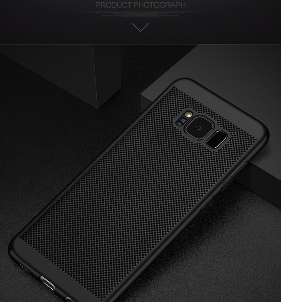 WST Ultra Slim Phone Case For Samsung Galaxy S8 S9 S7 S6 Plus S6 Edge Plus S8 S9 Plus S7 Case Hollow Heat Plastic Full Cover (22)