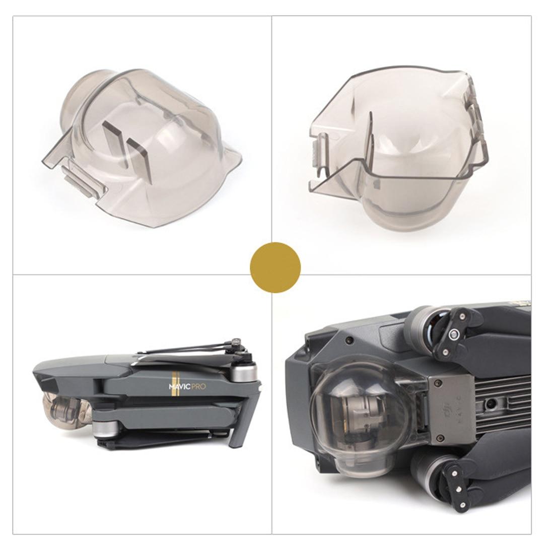 HOBBYINRC Transparent Lens  Protective Cover Gimbal Camera Clear Protection Cover Lens Protector Cap For DJI MAVIC PRO --Gray
