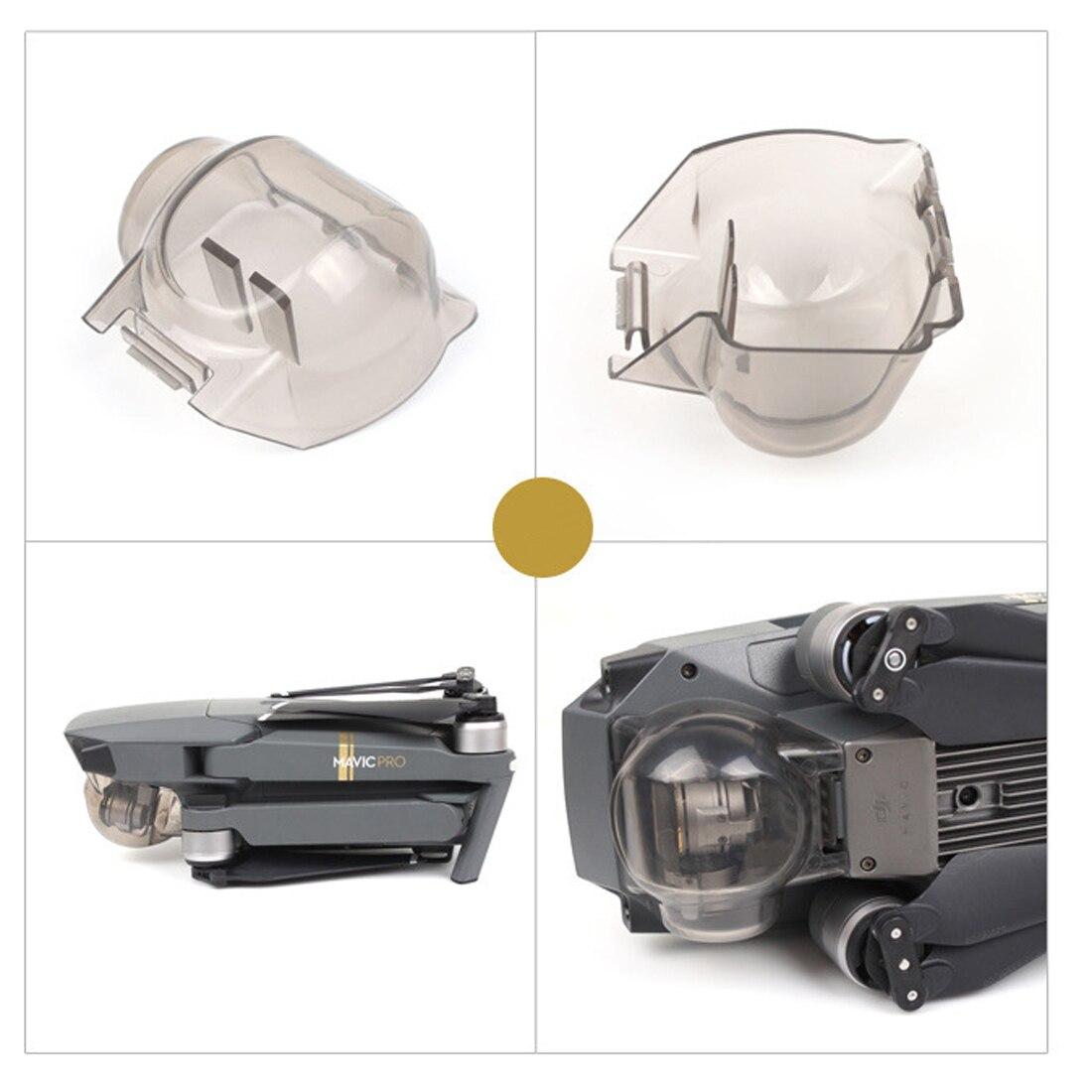 Hobbyinrc Прозрачная защитная крышка объектива Gimbal Камера очистите защитные крышка объектива протектор Кепки для dji Мавик Pro-серый