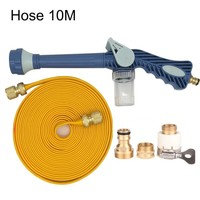 Garden Water Hose Snow Cannon Foam Nozzle Soap Dispenser Gun Cleaning Cannon 8 Watering Pattern for Car Washer