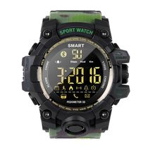 Waterproof Sports Smart Watch EX16S Camouflage Outdoor Bluetooth Remote Control Photo Long Standby Smartwatch