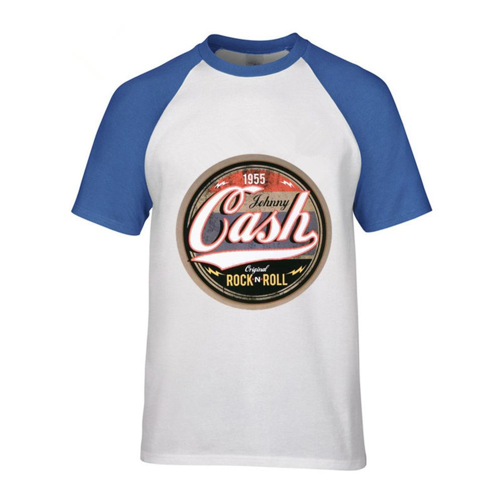 84043ec847 New Arrival Mens t shirts Online Johnny Cash Casual Rock N Roll T Shirt  Camisetas Short Sleeve t shirt Men For Gift-in T-Shirts from Men's Clothing  & ...