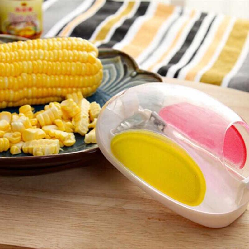 Fabricante de Comida Para Bebé Suplemento Alimentar bebê Moagem Corn Stripper Milho Cortador De Barbeador Crianças Almoço DIY Criador Mounld Ferramentas Da Cozinha