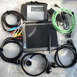 Najwyższej jakości! mb sd connect compact 4 star c4 + 2020.06 oprogramowanie mini ssd tablet le1700 pełny zestaw do diagnostyki samochodów i ciężarówek
