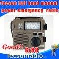 Бесплатная доставка Tecsun GR88 весь диапазон ручной коленчатого производства электроэнергии чрезвычайной экологической ситуации Green-88 радио