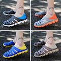 2017 men beach slippers hole shoes male slip-resistant casual sandals brand shoes breathable flat with sandals