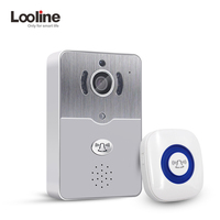 Door Intercom IP Doorbell With 720P Camera Video Phone Night Vision IR Motion Detection Alarm for IOS Android WIFI Doorbell
